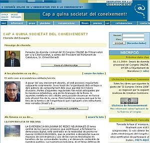 Cap a quina societat del coneixement? - 2n Congrés ONLINE OCS / 2004