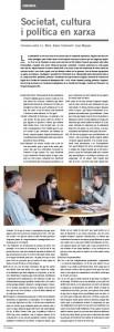 Conversa sobre xarxes socials a la Revista Blanquerna
