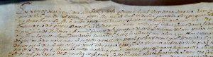 Un manuscrit antic