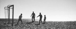 Futbol en la playa - Ni tan héroes, ni tan locos, ni tan solitarios