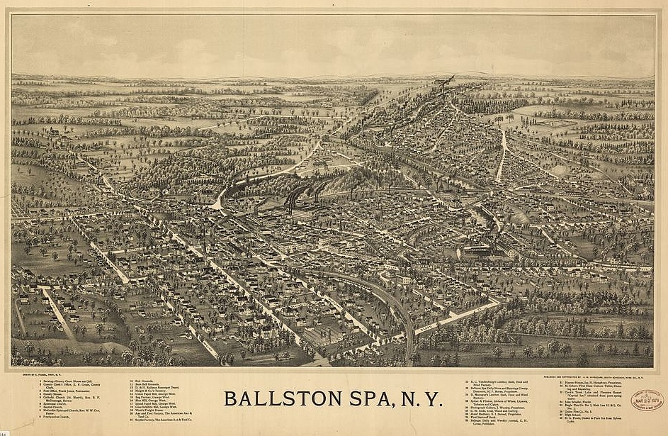 Ballston Spa, la inspiració pel North Bath de Richard Russo
