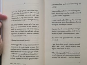 A sample page of Jenny Offill's Dept. of Speculation